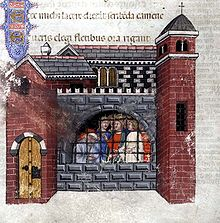 Boethius in his prison